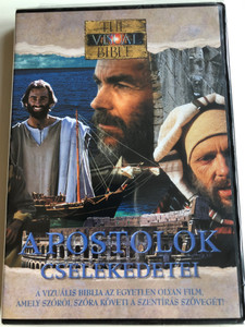 Acts of the Apostles (Visual Bible) DVD 1994 Apostolok Cselekedetei / Directed by Regardt van den Bergh / Starring: Dean Jones, Henry O. Arnold, Jennifer O'Neill / Vizuális Bibliatársulat (804671206392)