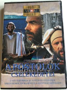Acts of the Apostles (Visual Bible) DVD 1994 Apostolok Cselekedetei / Directed by Regardt van den Bergh / Starring: Dean Jones, Henry O. Arnold, Jennifer O'Neill / Vizuális Bibliatársulat (804671206392)