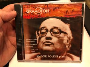 Andor Foldes – Piano / Igor Stravinsky - Piano Sonata, Samuel Barber - Excursions, Aaron Copland - Piano Sonata / Deutsche Grammophon Audio CD 2004 / LPM 18279