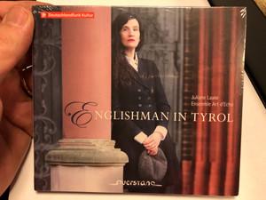 Juliane Laake Ensemble Art d'Echo - Englishman In Tyrol / Deutschlandradio Audio CD 2020 / VKJK 2003