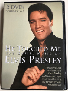 He Touched me - The Gospel Music of Elvis Presley - Vol 1 & 2 - 2xDVD 2000 / Directed by Michael Meriiman / Hosted by Veteran Journalist - Sander Vancur / Coming Home Music (617884463496)