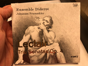 Ensemble Diderot - Johannes Pramsohler / Leclair - Trio Sonatas Op. 4 / Audax Records Audio CD 2020 / ADX13724