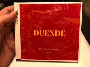 Duende - Teo Gheorghiu (piano) / Claves Records Audio CD 2020 / 7619931302126