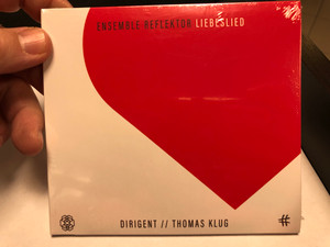 Ensemble Reflektor - Liebeslied / Dirigent: Thomas Klug / Paschen Records Audio CD 2020 / PR 200066