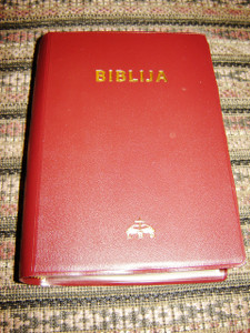 Lithuanian Bible / Canonical Edition Burgundy / Biblija