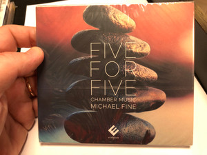 Five For Five - Chamber Music - Michael Fine / Evidence Classics Audio CD 2020 / EVCD070