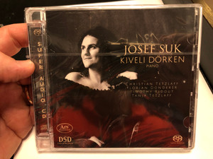 Josef Suk - Kiveli Dorken (piano) / Christian Tetzlaff, Florian Donderer, Timothy Ridout, Tanja Tetzlaff / Ars Produktion Audio CD 2020 / 4260052382981