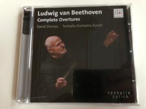 Ludwig van Beethoven – Complete Overtures / David Zinman, Tonhalle Orchestra Zurich / Arte Nova Classics 2x Audio CD 2005 / 82876 57831 2