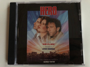 Original Motion Picture Soundtrack - Hero / Featuring ''Heart Of A Hero'', Performed by Luther Vandross / Music Composed and Conducted by George Fenton / Epic Soundtrax Audio CD 1992 / 472331 2