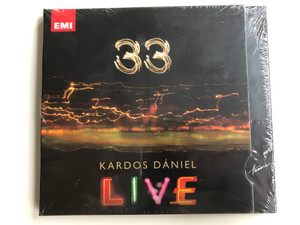 33 - Kardos Daniel - Live / Hunnia Records ‎Audio CD 2009 / HRCD 907