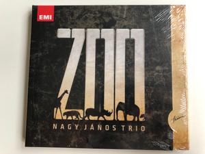Zoo - Nagy János Trio / Hunnia Records & Film Production Audio CD 2010 / HRCD 919