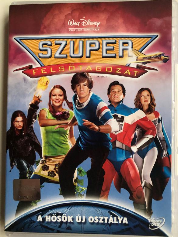 Sky High DVD 2005 Szuper felsőtagozat / Directed by Mike Mitchell / Starring: Kelly Preston, Michael Angarano, Danielle Panabaker, Mary Elizabeth (5996255719987)