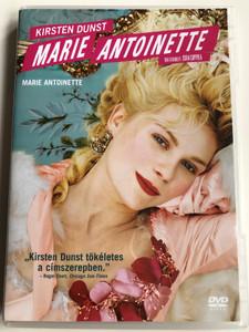 Marie Antoinette DVD 2006 / Written and Directed by Sofia Coppola / Starring: Kirsten Dunst, Jason Schwartzman, Judy Davis, Rip Torn, Rose Byrne (5999048913081)