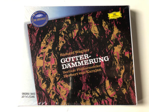 Richard Wagner – Götterdämmerung / Berliner Philharmoniker, Herbert Von Karajan ‎/ The Originals / Deutsche Grammophon ‎4x Audio CD Stereo / 457 795-2