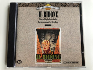 Cam's Soundtrack Encyclopedia / Il Bidone / Directed by Federico Fellini, Music Composed by Nino Rota / CAM Audio CD 1991 Stereo / CSE 004 (8012355010049)