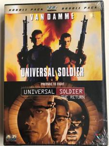 Universal Soldier - Double Pack DVD 1999 Universal Soldier The Return / Directed by Roland Emmerich, Mic Rodgers / Starring: Jean-Claude van Damme, Michael Jai White, Dolph Lundgren, Heidi Schanz, Xander Berkeley (7041271043351)