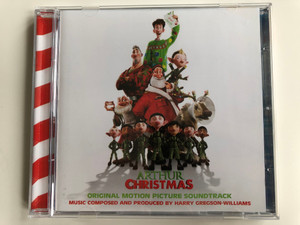 Arthur Christmas (Original Motion Picture Soundtrack) / Music composed and produced by Harry Gregson-Williams / Sony Classical Audio CD 2011 / 88697998022