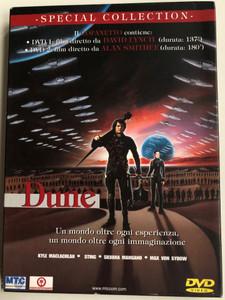Dune - Special Collection 2xDVD 1984 Un mondo oltre ogni esperienza, un mondo oltre ogni immaginazione / Italian Release DVD / Directed by David Lynch / Starring: Kyle MacLachlan, Sting, Max von Sydow, Patrick Stewart, Linda Hunt / Sci-Fi Classic (8020942113660)