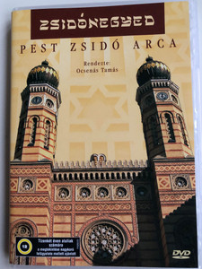 Zsidónegyed - Pest Zsidó Arca DVD Jewish district - The Jewish face of Pest / Directed by Ocsenás Tamás / The story of the jewish people of Pest, Hungary / Jewish tradition, religion and culture (5996357343684)
