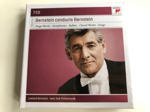 Bernstein conducts Bernstein / Stage Works, Symphonies, Ballets, Choral Works, Songs / Leonard Bernstein, New York Philharmonic / Sony Classical 7x Audio CD 2011 / 88697880862