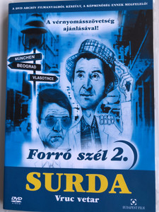 Forró szél 2. DVD 1978 Surda - Vruć vetar / Directed by Aleksandar Đorđević / Starring: Ljubiša Samardžić, Miodrag Petrović Čkalja, Radmila Savičević / Popular Yugoslav TV series (5999544242968)