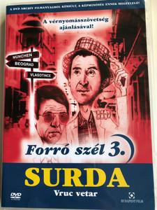 Forró szél 3. DVD 1978 Surda - Vruć vetar / Directed by Aleksandar Đorđević / Starring: Ljubiša Samardžić, Miodrag Petrović Čkalja, Radmila Savičević / Popular Yugoslav TV series (5999544242975)