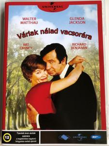 House Calls DVD 1978 Várlak nálad vacsorára / Directed by Howar Zieff / Starring: Walter Matthau, Glenda Jackson, Art Carney, Richard Benjamin (5998133189134)