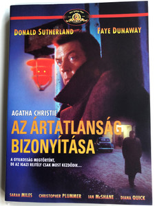 Ordeal by Innocence DVD 1984 Az ártatlanság bizonyítása / Directed by Desmond Davis / Starring: Donald Sutherland, Sarah Miles, Faye Dunaway (5999546332735)