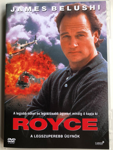 Royce DVD 1994 / Directed by Rod Holcomb / Starring: James Belushi, Peter Boyle, Miguel Ferrer, Chelsea Field (5999546330243)