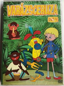Zaczarowany ołówek 4. DVD 1970 Varázsceruza 4. / Written by Adam Ochocki / Enchanted Pencil - Classic Polish Cartoon Series / 8 episodes on disc (5996473007378)