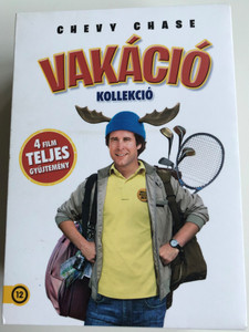 Chevy Chase Collection - National Lampoon 4xDVD SET Vakáció Kollekció / Directed by Harold Ramis, Amy Heckerling, Jeremiah S. Chechik, / National Lampoon's Vacation, European Vacation, Christmas Vacation, Vegas Vacation (5996514019445)
