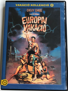 National Lampoon's European Vacation DVD 1985 Európai Vakáció / Directed by Amy Heckerling / Starring: Chevy Chase, Beverly D'Angelo, Dana Hill / Vakáció Kollekció 2 (5996514003062)