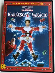 National Lampoon - Christmas Vacation DVD 1989 Karácsonyi Vakáció / Directed by Jeremiah S. Chechik / Starring: Chevy Chase, Beverly D'Angelo, Randy Quaid / Vakáció Kollekció 3. (5996514005356.)