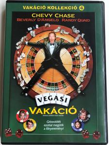 National Lampoon's Vegas Vacation DVD 1997 Vegasi Vakáció / Directed by Stephen Kessler / Starring: Chevy Chase, Beverly D'Angelo, Wayne Newton, Randy Quaid / Vakáció Kollekció 4. (5996514003550)