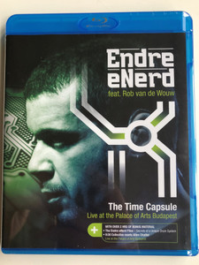 Endre eNerd feat Rob van de Wouw BluRay Disc 2014 The Time Capsule - Liive at the Palace of Arts Budapest / Hunnia Records HRBR1305 / 9:30 Collective meets Alien Chatter (5999883042908)