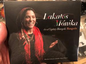 Lakatos Monika - es a Cigany Hangok: Hangszin = Monika Lakatos and the Gipsy Voices / FolkEuropa Kiado Audio CD 2020 / FECD 073