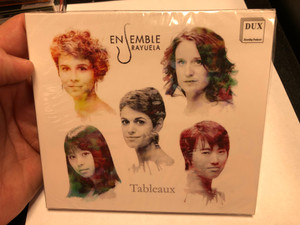 Ensemble Rayuela - Tableaux / DUX Recording Audio CD 2020 / DUX 1635