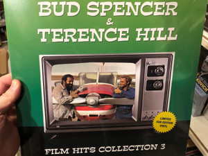 Bud Spencer & Terence Hill - Film Hits Collection 3: Limited Fan Edition (Vinyl) LP / Hargent Media 2010 / Super snooper, Banana Joe, Bulldozer, Shining Day, Angels and Beans (5889920180437)