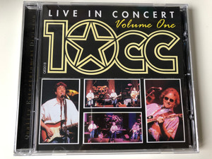 Live In Concert - 10cc - Volume One / QED Audio CD 1993 / QED018