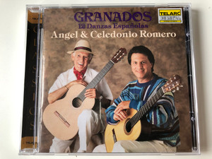 Granados – 12 Danzas Espanolas / Angel Romero, Celedonio Romero / Telarc Audio CD 1991 / CD-80216