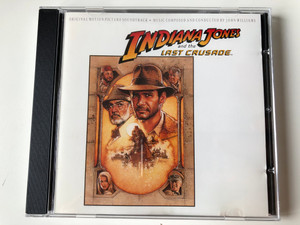 Indiana Jones And The Last Crusade (Original Motion Picture Soundtrack) / Music Composed And Conducted By John Williams / Warner Bros. Records Audio CD 1989 / 925 883-2