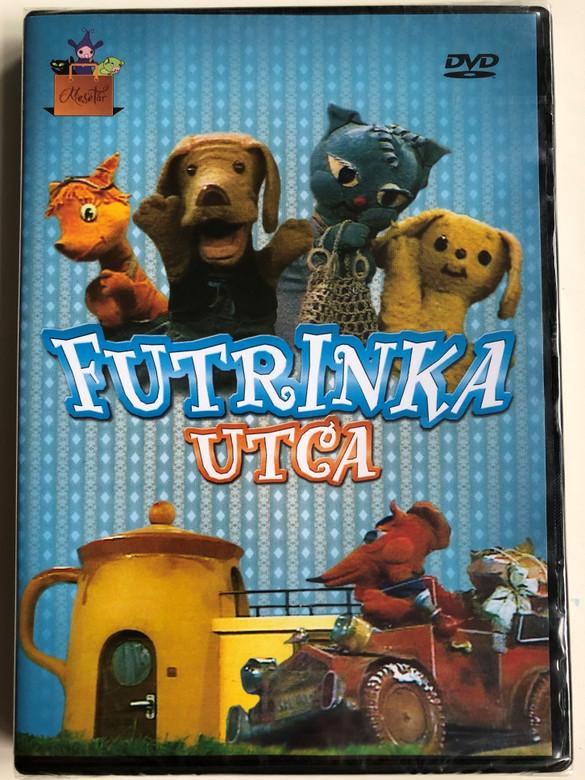 Futrinka Utca - MTV mesetár DVD 1979 / Directed by Szabó Attila / írta: Bálint Ágnes / 8 episodes of Hungarian Puppet play TV series / 8 episodes (5999542819759)