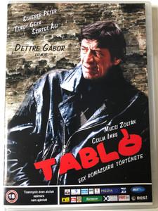 Tabló DVD 2008 Egy Romazsaru története / Directed by Dettre Gábor / Starring: Scherer Péter, Tordy Géza, Szirtes Ági, Mucsi Zoltán / Hungarian film noir (5998133156037)