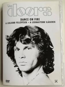 The Doors - Dance on fire DVD 1985 / A legjobb fellépések - A legnagyobb slágerek / Directed by Ray Manzarek / The best performances & The biggest hits of The Doors / Break on Through, Light My Fire, The Unkonwn Soldier, Riders on the Storm (5999544254978)