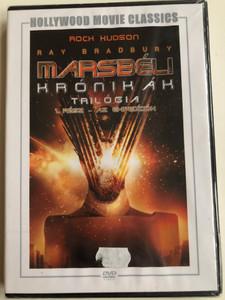 The Martian Chronicles Part 1 DVD Marsbéli krónikák 1. rész - Az expediíciók / Directed by Michael Anderson / Starring: Gayle Hunnicutt, Bernie Casey, Roddy McDowall, Darren McGavin (5999546333862)