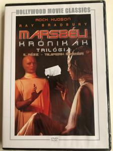 The Martian Chronicles Part 2 - The Settlers DVD 1980 Marsbéli krónikák 2. rész - Telepesek érkezése / Directed by Michael Anderson / Starring: Rock Hudson, Gayle Hunnicutt, Bernie Casey, Roddy McDowall, Darren McGavin / Written by Ray Bradbury (5999546333879)
