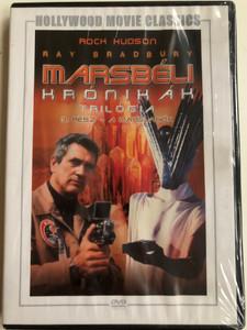 The Martian Chronicles Part 3 - The Martians DVD 1980 Marsbéli krónikák 3. rész - A Marslakók / Directed by Michael Anderson / Starring: Rock Hudson, Gayle Hunnicutt, Bernie Casey, Roddy McDowall, Darren McGavin / Written by Ray Bradbury (5999546333886)