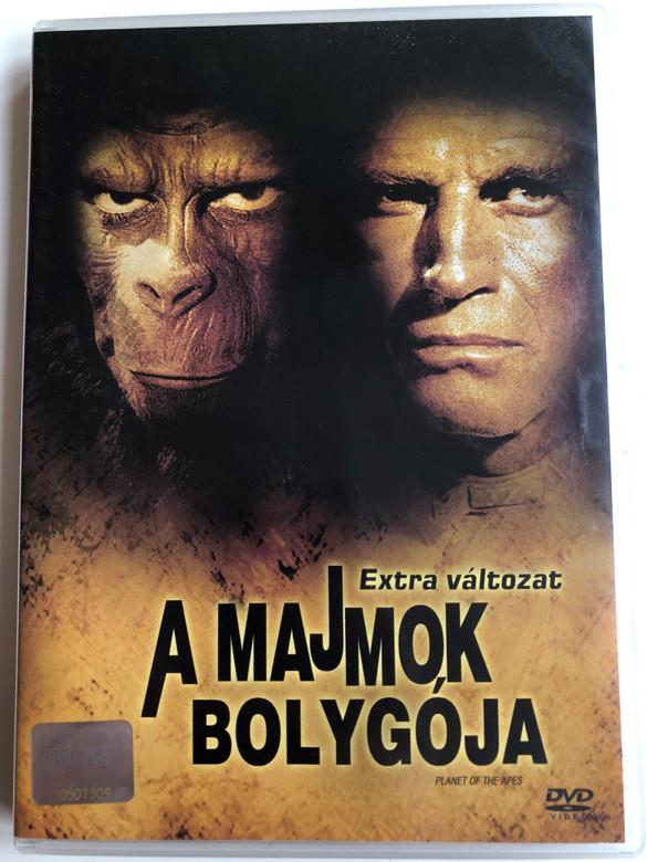 Planet of the Apes 2DVD 1968 A Majmok bolygója - Extra változat / Directed by Franklin J. Schaffner / Starring: Charlton Heston, Roddy McDowall, Kim Hunter, Maurice Vans (5996255711967)