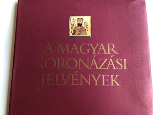 A magyar koronázási jelvények by Kovács Éva, Lovag Zsuzsa / Hungarian coronation badges / Hardcover / Corvina Kiadó 1980 / CO 1830-h-8084 (9631307581)