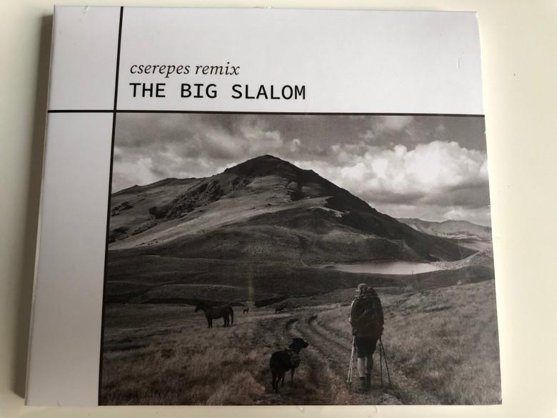 Cserepes Remix - The Big Slalom / Fonó Music Hall Audio CD 2020 / FA 460-2
